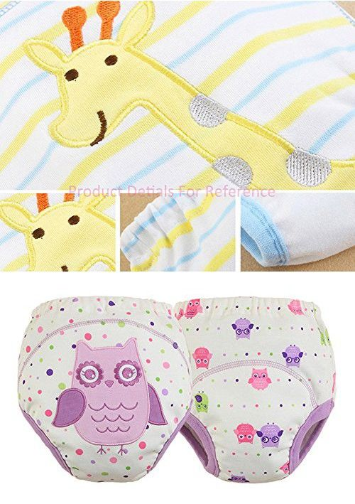 [Owl] Baby Toilet Training Pants Nappy Underwear Cloth Diaper 13.2-22Lbs