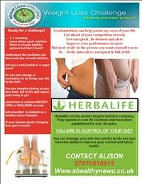 www.wow-a2z.com member 'A healthy new u'. Weight loss challenge with Herbalife products.