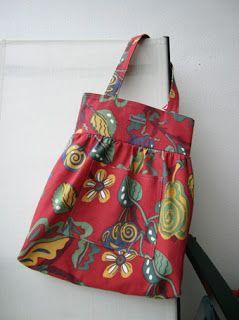 Sy en väska, svensk beskrivning.