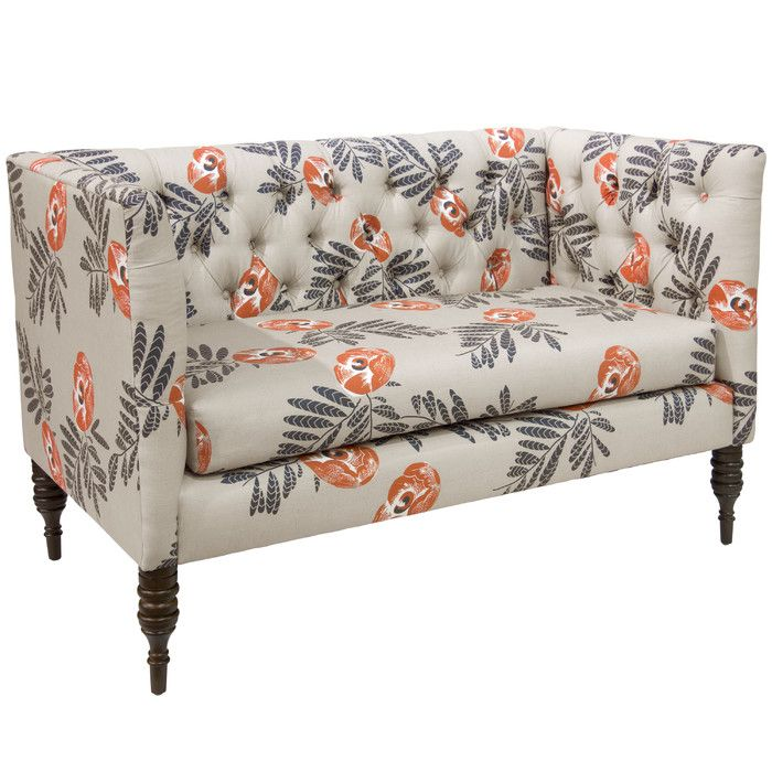You'll love the Bayer Mod Floral Tufted Chaise Lounge at Joss & Main - With Great Deals on all products and Free Shipping on most stuff, even the big stuff.