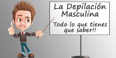 Todo sobre la #depilacion #masculina #blog #tendencia #consejo