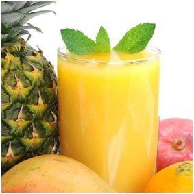 Mango Orange Pineapple Smoothie