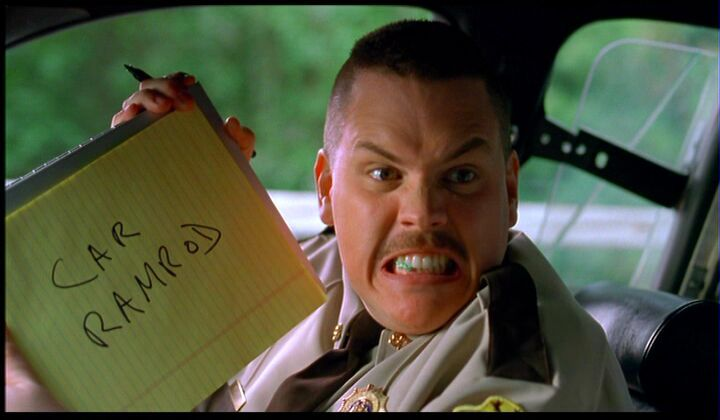 Super TroopersLaugh, Funny Movietv, Book, Farva, Things, Movie Quotes, Movie Time, Super Troopers, Cars Ramrod