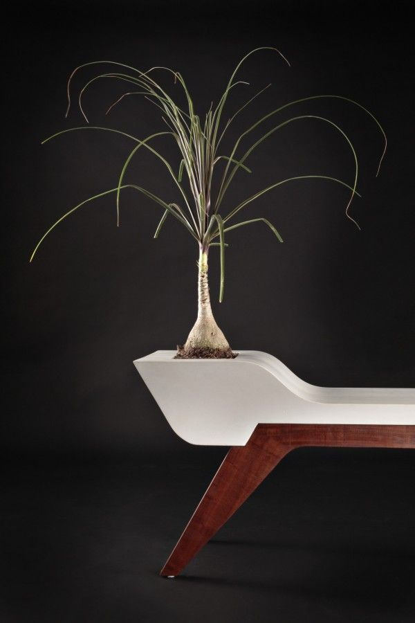 Amazing Splendid Furniture Items Made From Sustainable Materials. Planter  BenchPlantersConcrete ... Design Ideas