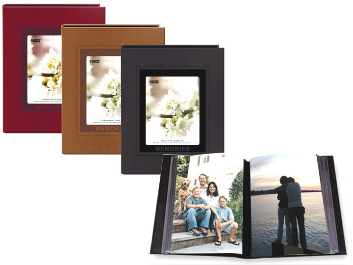 4x6 Photo Albums - 1 Photo Per Page / 36 Pockets - Pioneer CLMEM-46 4x6 Photo Album