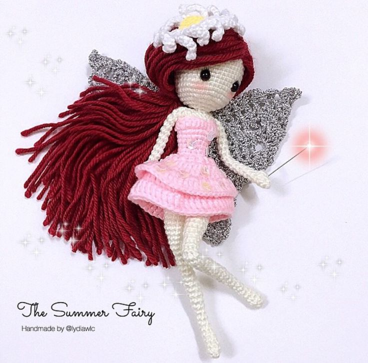 Amigurumi fairy doll. (Inspiration).
