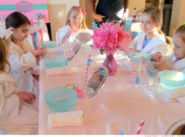 Children's Party Planner - a fun (yet stressful) new career path. My grandmother always thought I would be one because of the way I took charge of family functions.