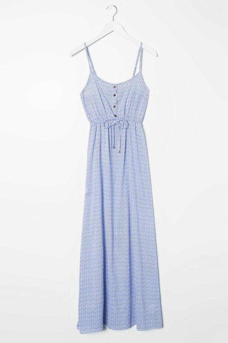 blue #print #maxi #dress #musthave #TALLYWEiJL