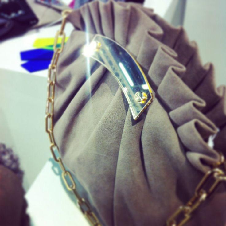 #brigitte #fieramilanocity #febbraio2014 #fashionweek #settimanadellamoda #mipap stand D18 @bahilaroma #bahilà #plexibags #plexiglas #pochette #italiane #madeinitaly #alcantara #instantbags #instacool #intercambiabile
