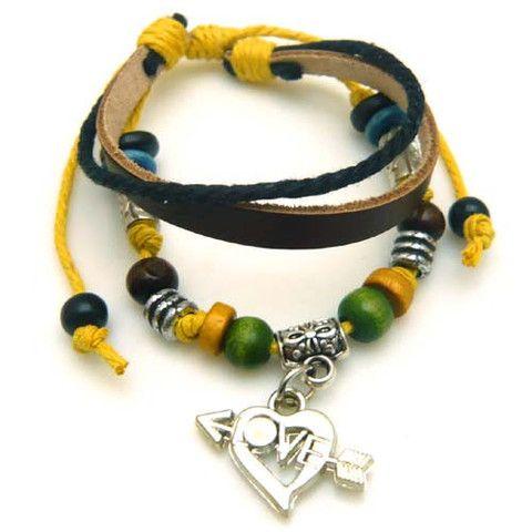 Arrow Love Multilayer Bracelet