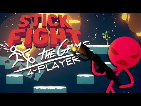 2017 Stick Fight 4-player game