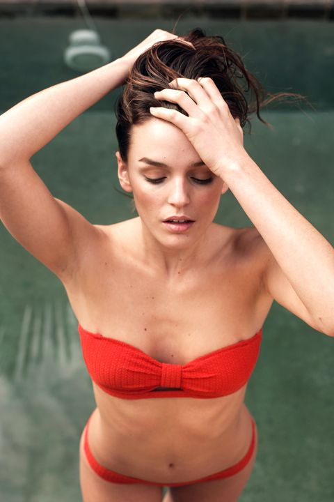 Maillot de bain deux pièces corail, Paresse inspirée, Ysé #frenchbrand #swimwear #maillotdebain #summer #été