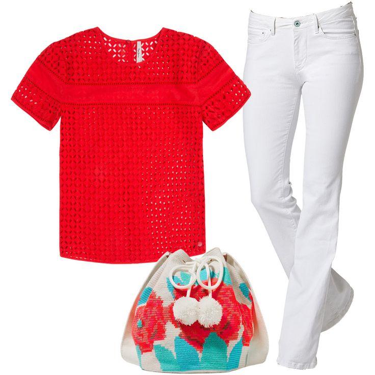В предвкушении жарких городских будней (мы верим, что лето таки наступит 😉), загородных уикендов и путешествий выбираем незаменимые летом белые джинсы. Тем более, что теперь они со скидкой 50% в JiST или jist.ua #fashionable #streetstyle #outfitidea: #stylish #PepeJeansLondon #blouse & #jeans help to create #chic #casual #summer #outfit #мода #стиль #тренды #джинсы #блуза #модно #стильно #скидки