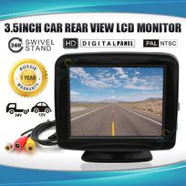 """3.5"""" HD LCD Car Monitor for Rear View Reverse Camera"""