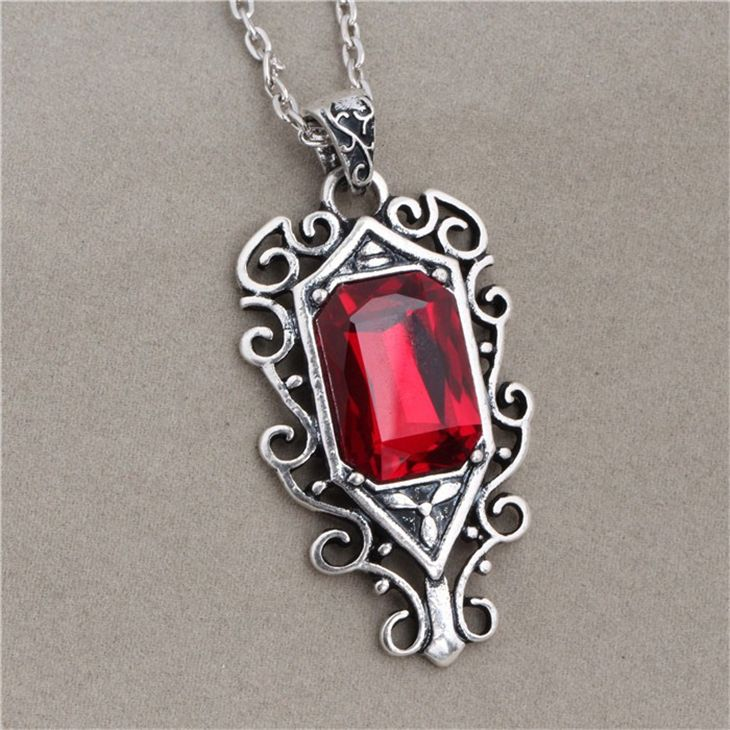 The Mortal Instruments City of Bones necklace vintage Isabelle Lightwood pendant for men and women wholesale