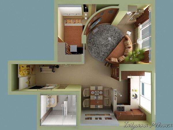 Best 25+ Small Apartment Plans Ideas On Pinterest