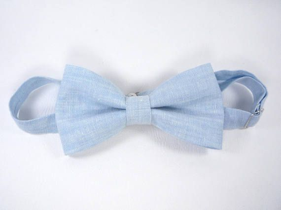 Light Blue Bow Tie, Sky blue bow tie, Bow Tie for Men, Spring summer bow tie, Mens blue ties, baby blue bow tie, boy's, toddler's, baby's