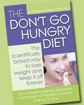 The Don't Go Hungry Diet by Dr. Amanda.