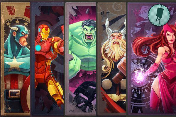Bruja Escarlata,Mercurio e Iron Man en Los Vengadores 2