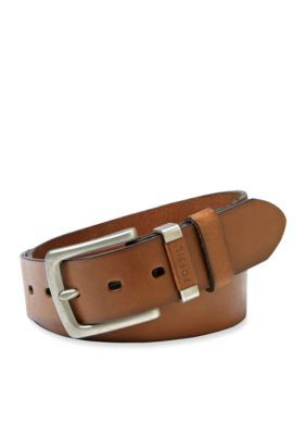 Fossil Men's Jay Leather Jean Belt - Brown - 40
