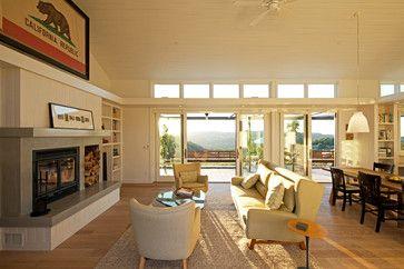 Modern Farmhouse - farmhouse - living room - san luis obispo - Semmes & Co. Builders, Inc