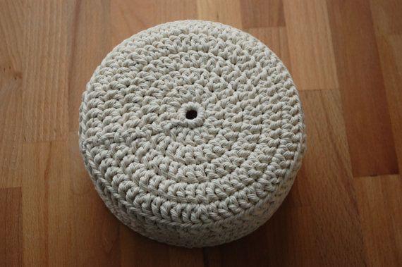 Lace Crochet Basket large by LilibethRose on Etsy