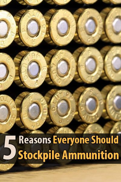 There are probably a dozen reasons why you should stockpile ammunition, but Van Prepper has narrowed it down to the top 5.