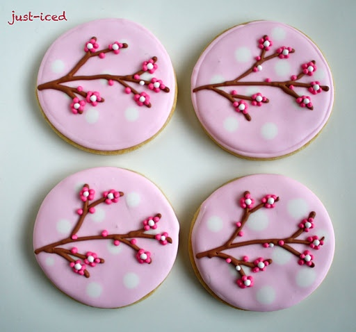 Cute iced cookies