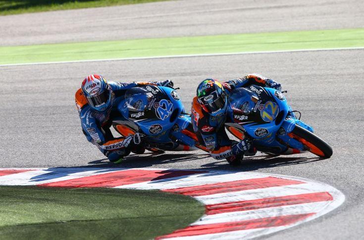 Alex MArquez, Rins, Moto3 race, San MArino MotoGP 2014