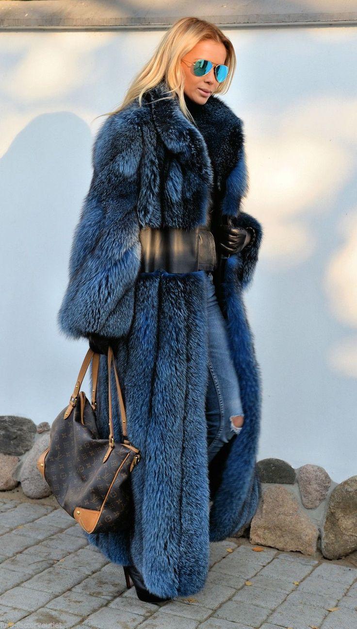 //Pinterest @esib123 // #style #inspo fur coat and LV bag