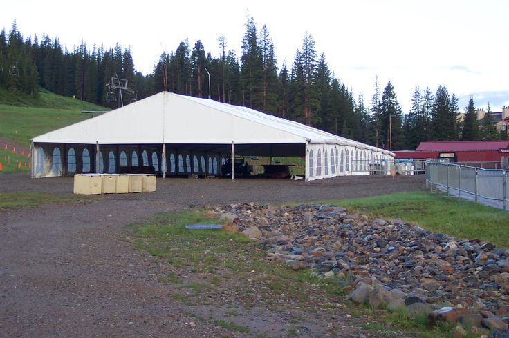 The Super Tent® is our premier tent structure and an excellent choice for any event. It gives new meaning to the word tent by offering several advantages over the traditional center pole style of tent. It is by far the most robust tent out there standing tall in the midst of all sorts of adverse weather. Super Tents® are commonly used for weddings, trade shows, sales events, concerts, fairs, and extra work space. They are the perfect choice when you need a tent for an extended period of…