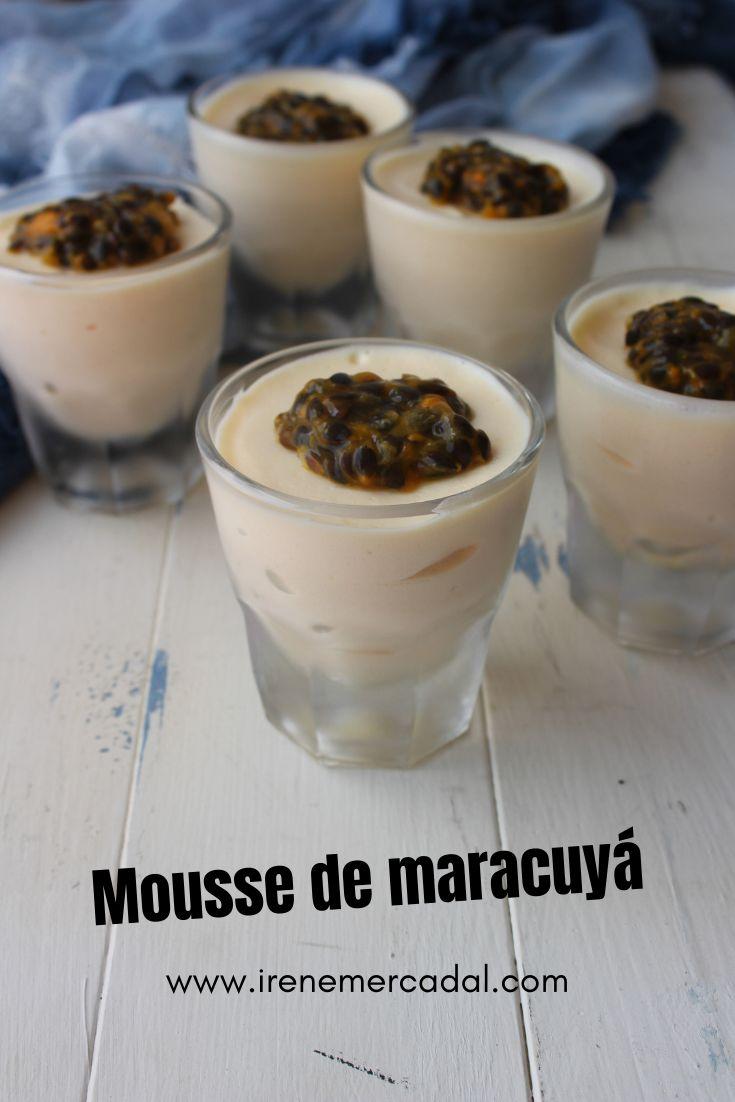 Con solo 3 ingredientes podrás hacer este delicioso mousse de maracuyá ¿Quieres ver la receta?  #espumamaracuya #espumaparchita #postrefacil Cereal, Candy, Irene, Fresco, Cooking, Breakfast, Desserts, Gluten, Food