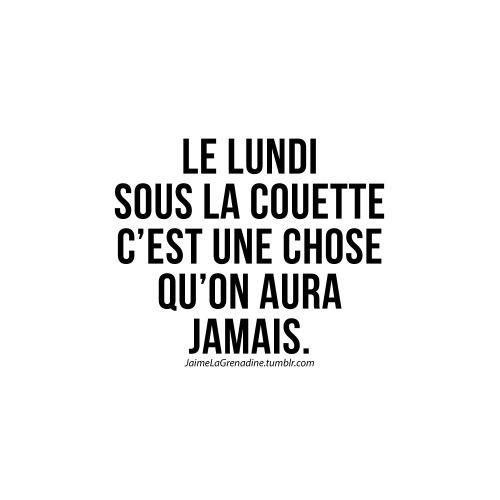 Le lundi sous la couette c'est une chose qu'on aura jamais - #JaimeLaGrenadine #lundi #monday #cloclo