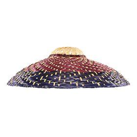 Pantalla para lámpara de techo Makiko rojo/morado