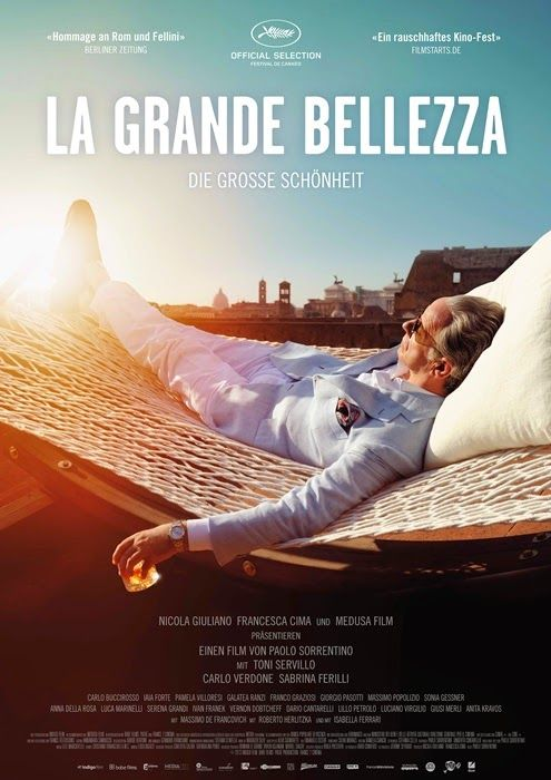 """La grande bellezza - Paolo Sorrentino 2013 - Won 1 Oscar. Another 52 wins & 72 nominations -- """"Jep Gambardella has seduced his way through the lavish nightlife of Rome for decades, but after his 65th birthday and a shock from the past, Jep looks past the nightclubs and parties to find a timeless landscape of absurd, exquisite beauty."""""""