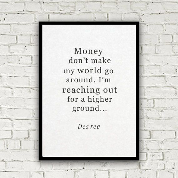 David Brent poster print quote