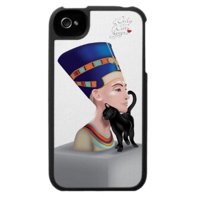 Nefertiti's Cat-iphone4 Case  $39.95