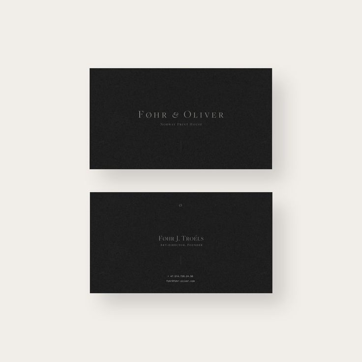 246 best business cards images on pinterest graphics business fhr oliver is a fictional website design and visual identity concept for unexisting typography printing house and design boutique from stjrdal norway reheart Images