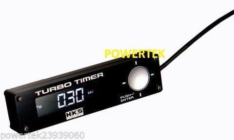 HKS-TURBO-TIMER-NERO-di-tipo-0-ZERO-ROSSO-LCD-per-SUBARU-MITSUBISHI-EVO-WRX-STI