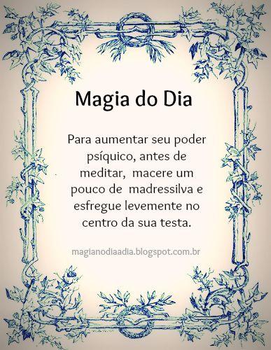 Magia no Dia a Dia: Magia do Dia: madressilva  http://magianodiaadia.blogspot.com.br