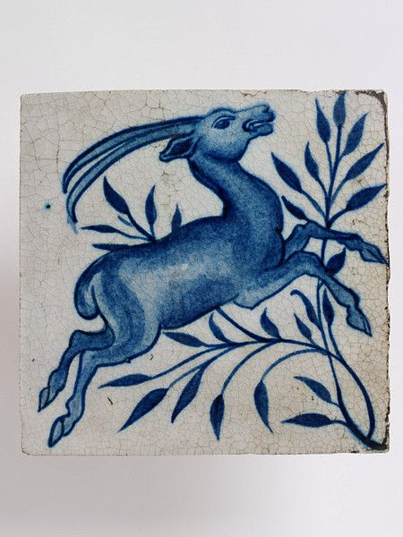 Tile by William De Morgan
