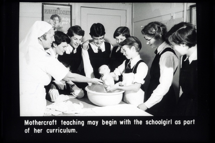 Early version of todays Education in Schools program. Not just for girls now though!