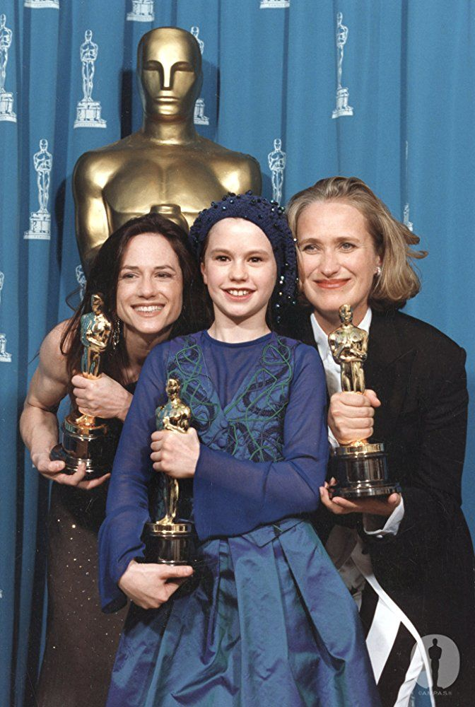 In 1994, a quartet of well-known performers were nominated for Best Supporting Actress: Rosie Perez (Fearless), Winona Ryder (The Age of Innocence), Emma Thompson (In The Name of the Father, and Holly Hunter (The Firm). It was a shock when 11-year-old Anna Paquin beat all of them for her turn in The Piano.