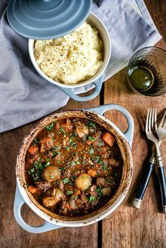 A traditional Greek recipe, Stifado beef stew is cooked low and slow until the meat is meltingly tender.