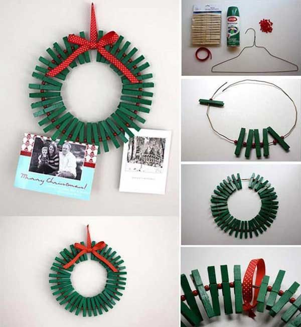 Top 35 Astonishing DIY Christmas Wreaths Ideas - See more beautiful DIY Chrsitmas Wreath ideas at DIYChristmasDecorations.net!