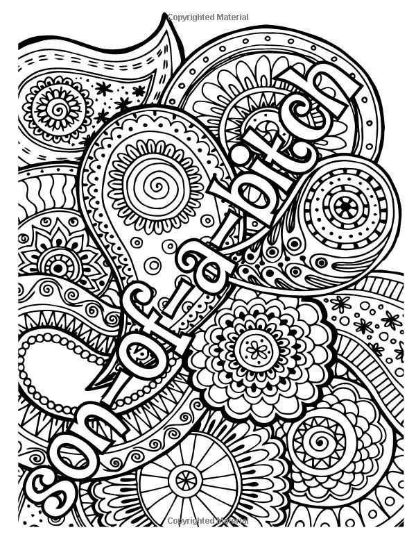 Curse Word Coloring Book For Adults Vol 1 The Stress Relieving Adult