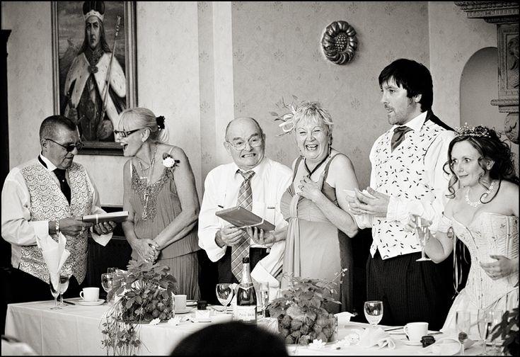 Matt and Ali at their wedding reception at Headley Park. Image chosen to feature on www.momentjunkie.com #headleyparkwedding