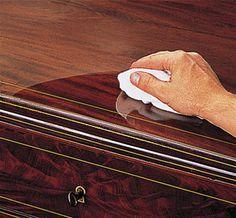 Oppfriskning av gamle møbler - ifi.no