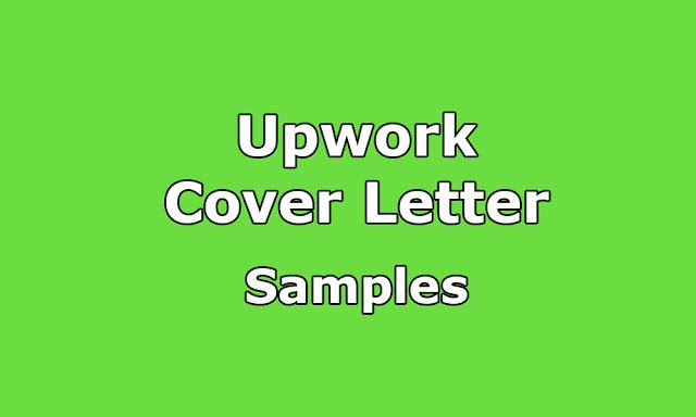 Upwork Cover Letter Samples With 100 Correct Format Cover Letter Sample Letter Sample Cover Letter