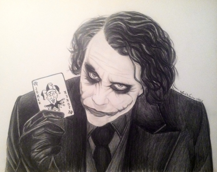 Joker Scribble Drawing : Joker drawing martin pagan pinterest drawings and jokers